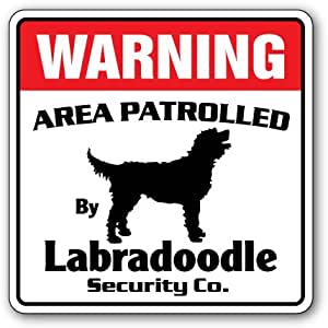 Beware Of Dog In Yard Rustic Sign SignMission Classic Plaque Decoration