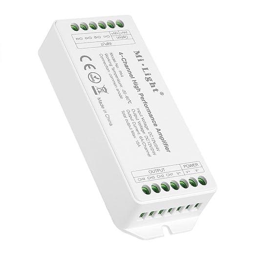Amazon Com Zerodis Da12v24v 4 Channel High Performance Amplifier