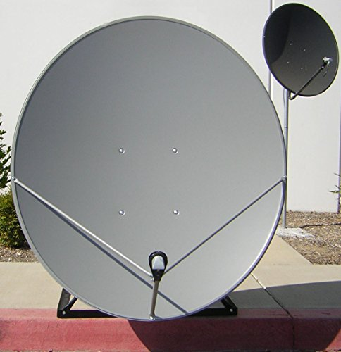 GeosatPro 1.2m Ku-Band Solid Offset Satellite Dish 120cm FTA Free to air Geosat