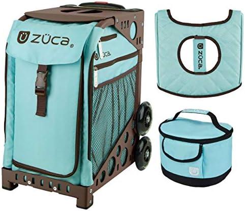 Zucaスポーツバッグ–Calypso withギフトLunchboxとシートカバー(ブラウンフレーム)