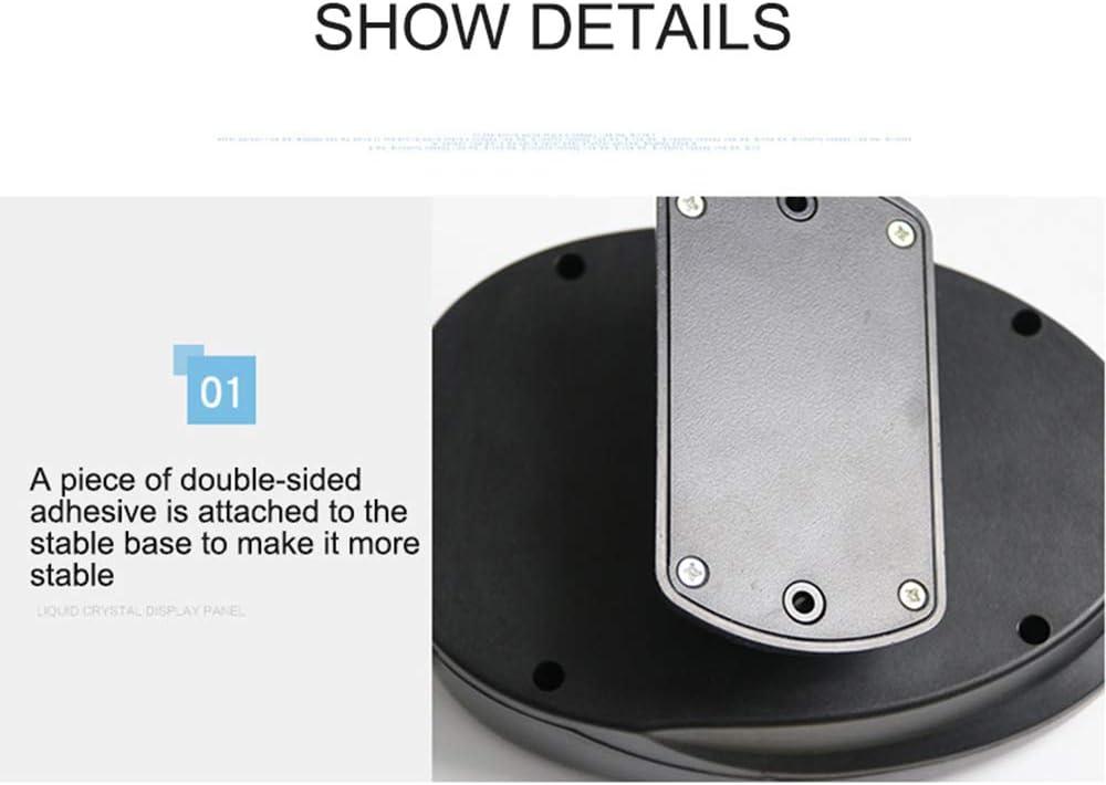 Chauffage Rapide et Faible Bruit-Noir D/ésembuage Pare-Brise Base Pivotante /à 360 Degr/és SUNJULY 12V 150W D/égivreur de D/ésembueur de Pare-Brise D/égivrage