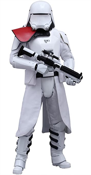 1//6 Scale Toy STAR WARS White Gloved Hand Set x2 Snowtrooper