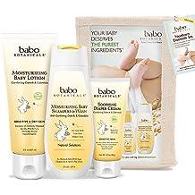 Babo Botanicals Newborn Essential 3 Piece Set - Best Baby Gift, Best For Baby Registry, Best Baby Shower Gift
