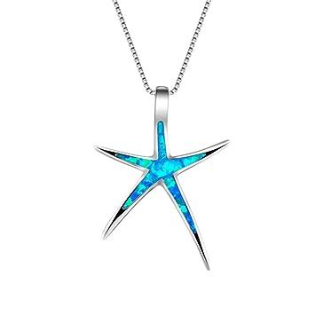 Amazon.com: Plata de Ley Estrella De Mar Estrellas Animal ...