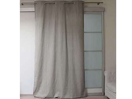 Tende Da Doccia In Lino : Soleil d ocre tenda lino con occhielli in lino cotone