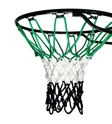 - Fandom Nets Basketball Net | NCAA & NBA Size | Fits Indoor and Outdoor Hoop/Goal | Replacement Net for Official, Boys, Youth, Pool/Poolside Games. Blue, Yellow, White, Black, Red (Green/Black)