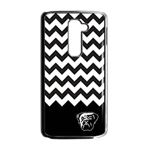 Hoomin Cleveland Browns Black White Chevron LG G2 Cell Phone Cases Cover Popular Gifts