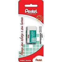 Borracha Hi-Polymer Eraser Soft, Pentel, SM/ZES-08E, Branco, Grande