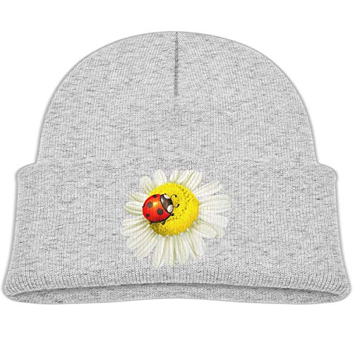rhfjgk ldjg Chamomile Ladybug Winter Knit Hats Baby Warm Beanie Caps ()