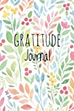 Gratitude Journal: Floral Watercolor,  For