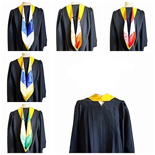 Master Gold Yellow - GRADWYSE Science Master Hood M.S. Golden Yellow Graduation Master Degree Hood, Various College Colors Available (Maroon/Gold)