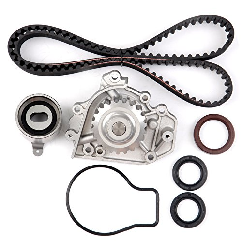 (ECCPP Timing Belt Water Pump Kit Fit for 1994-2001 Acura Integra GS-R Integra Type-R 1.8L 1797CC DOHC 16 Valve B18C1 B18C5)