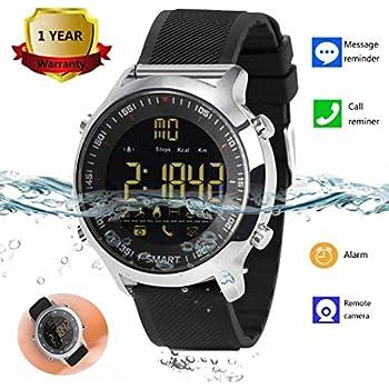 Amazon.com: MarMoon IP68 Waterproof Smartwatch Fitness ...