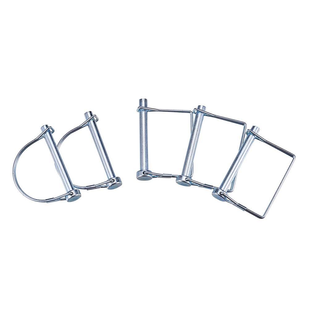INCREWAY 5/16' x 2-1/4' Locking Pin, 2 Types (Pack of 5)