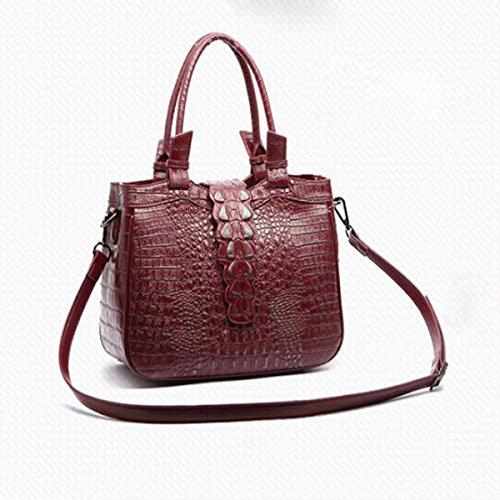 Red Bags Handbags Leather Leather Handbags Women Bags For Handbags Shoulder Women wv1I6rvq