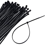Super buy 1000 10packs 12inch Nylon Plastic Zip Trim Wrap Cable Loop Ties Wire Self Lock by Super buy