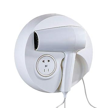 ZCM Secador de Pelo, secador de Poder portátil montado en la Pared del secador del Hotel del Viento Caliente y frío Profesional 1600W FL-2113: Amazon.es: ...