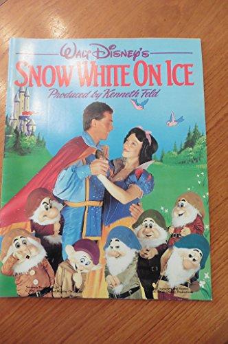 Walt Disney's Snow White on Ice - Souvenir Program