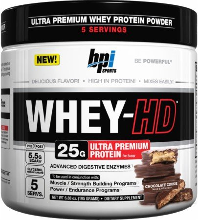 UPC 851780006788, BPI Sports Whey-HD 5 Servings - Chocolate Cookie