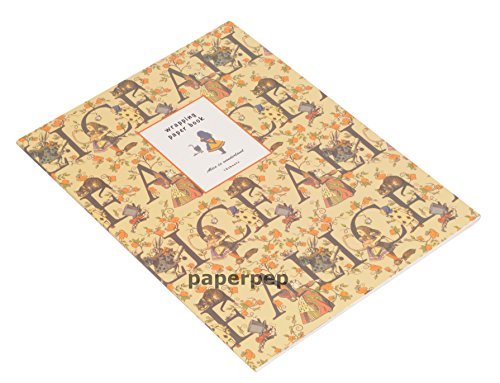 Eno Greeting EGWBA476A Paper Pep Wrapping A4 Paper Book (Multicolor)