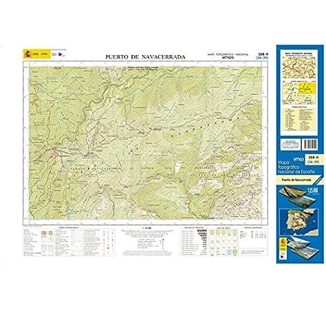508-2 Puerto de Navacerrada. Mapa Topográfico Nacional 1:25.000: Amazon.es: CENTRO NACIONAL DE INFORMACIÓN GEOGRÁFICA: Libros