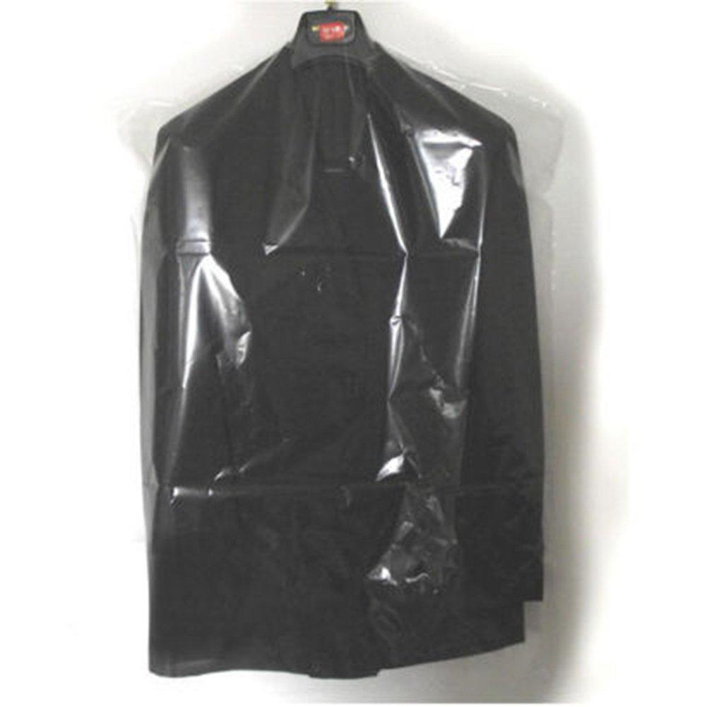 40pcs Dust Cover Garment Storage Organizer Bag Wardrobe Hanging Clothes (40pcs) by Risesun (Image #3)