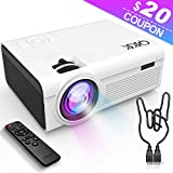 QKK Latest Upgrade 2800Lumens Mini Projector – Home Theater Projector for Indoor & Outdoor Movies & Video Games, Compatible with TV Box, PS4, DVD Player, Smartphones, 50,000 Hours LED Projector Reviews