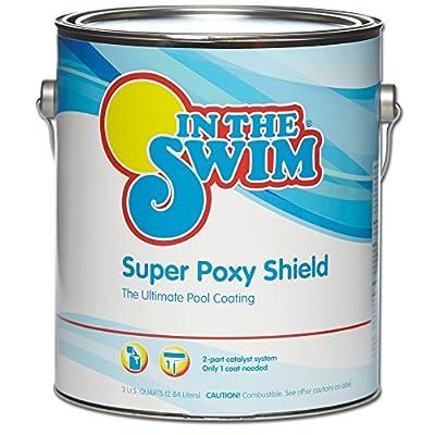 In The Swim Super Poxy Shield Epoxy-Base Swimming Pool Paint - Pool Blue 1 Gallon