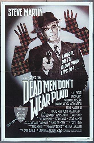 Dead Men Don't Wear Plaid (1982) Original Movie Poster
