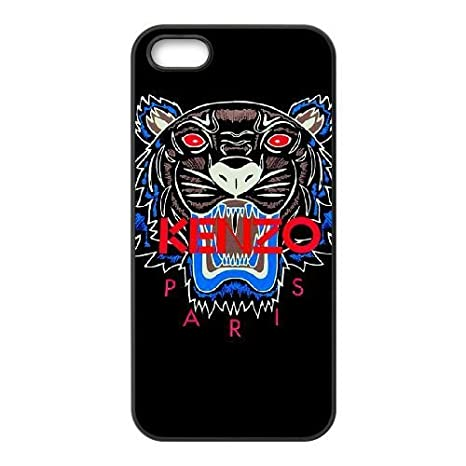 iPhone 5 5s Hülle [PC Material] Kenzo HD Theme Nur für iPhone 5 5s [Farbe: Schwarz] FSOHAHFAH0406 Sanaxu Kennedey B01CK6GKNM
