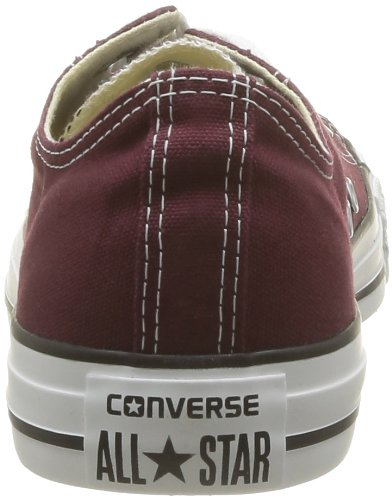 Converse Mens Chuck Taylor All Star Seasonal Ox Burgundy 3tV1wW