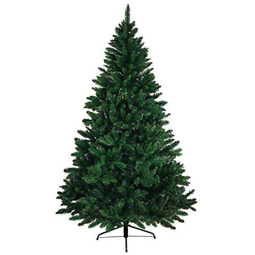 Christbaum künstlicher Weihnachtsbaum Tannenbaum WONDERLAND in 5 Größen und 3 Farben von BB Sport, Farbe:dunkelgrün;Höhe:120 cm (360 Spitzen)