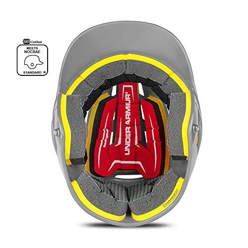 90725c9105e Under Armour Baseball UABH2 110  GPH Converge Solid Batter s Helmet ...