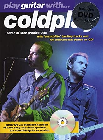 Play Guitar With. Coldplay (DVD edition). Partituras, CD, DVD ...