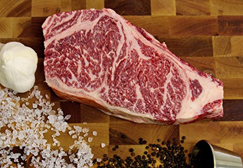 12 Oz New York Strips (Mishima Reserve US Kobe Beef, Four 12oz New York Strip Loin Steaks)