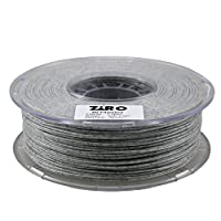 ZIRO 3D Printer Filament PLA 1.75mm Marble Color 1KG(2.2lbs) - White by ZIRO