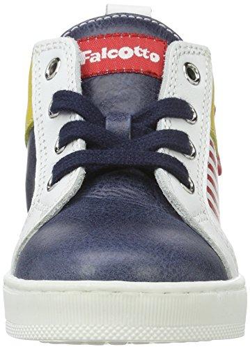 Falcotto Falcotto Davis - Botas de senderismo Bebé-Niñas Blau (Blau)