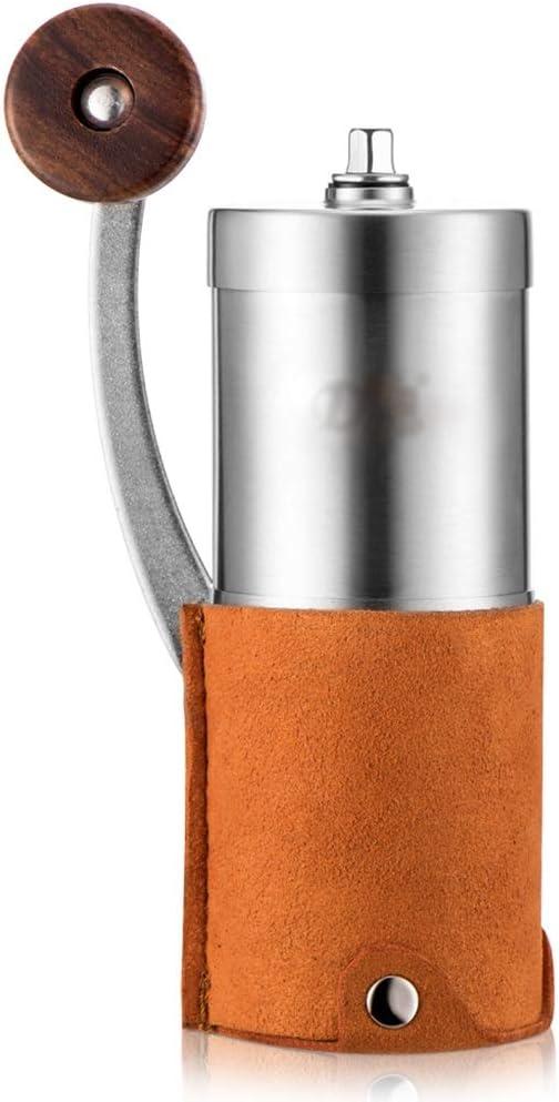SDKFJ Cafetera Pequeño Molino de café del hogar, Espesor Regulable ...