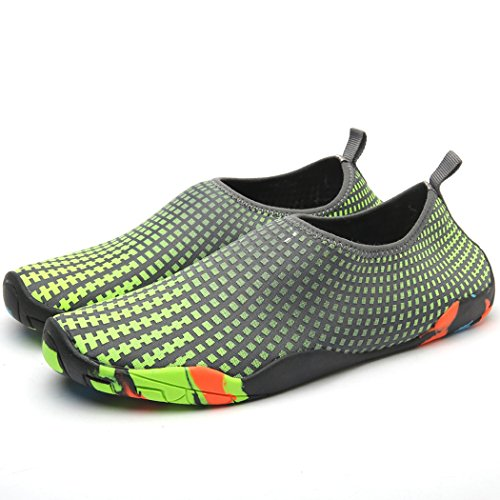 Aquas Socks Green Diving Wading Drying Shoes Dovaly Men Beach Quick Slippers Shoes Water Sneaker WqfOFAY