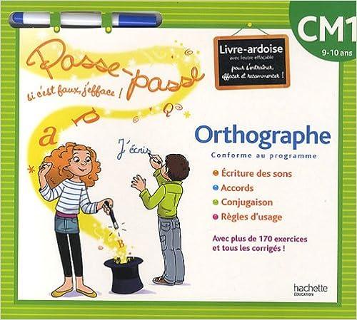 En ligne téléchargement gratuit Orthographe CM1 : 9-10 ans pdf epub