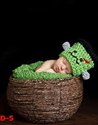 Newborn baby infant photography prop handmade woven basket D-5