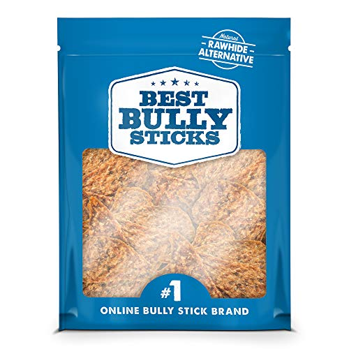 Best Bully Sticks Gourmet Duck and Chicken Breast Dog Treats 3lb. Value Pack All Natural Dog Treats