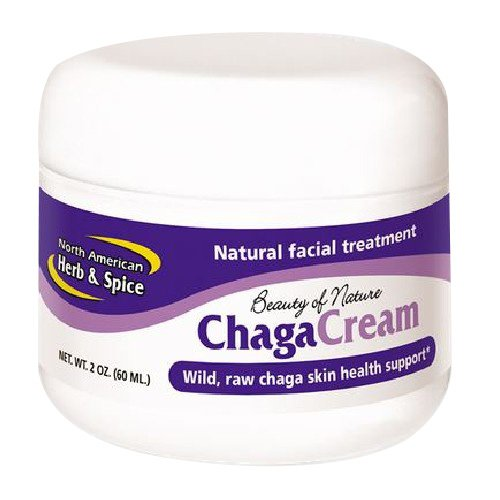 North American Herb and Spice, Chagacream Facial Treatment, 2-Ounce