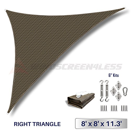 Windscreen4less Right Triangle Shade Hardware product image