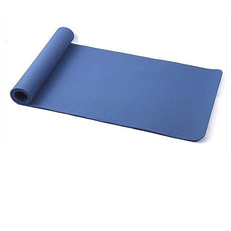 LPFMM Estera de Yoga de 183cm × 80cm × 8mm Antideslizante ...