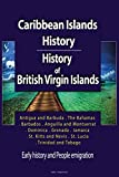 Caribbean Islands History, History of British Virgin Islands: Early history and People emigration, Antigua and Barbuda, The Bahamas, Barbados, Anguilla ... Dominica, Grenada, and more four