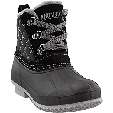 Amazon.com | Khombu Women's, Dixie Waterproof Cold Weather