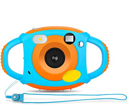 FLHLH Cámaras Digitales para niños, cámara pequeña réflex para ...