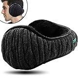 Dimples Excel Unisex Knit Ear Muffs Foldable Ear Warmers Winter Outdoor Earmuffs Size
