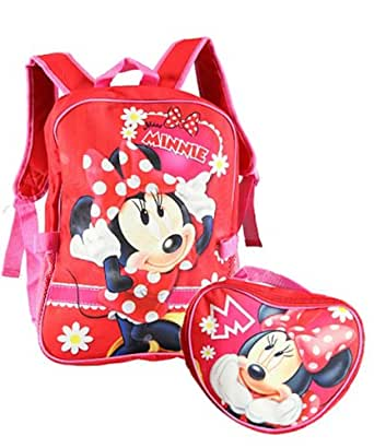 "Disney Minnie Mouse 12"" Toddler Backpack - Sweet Minnie"